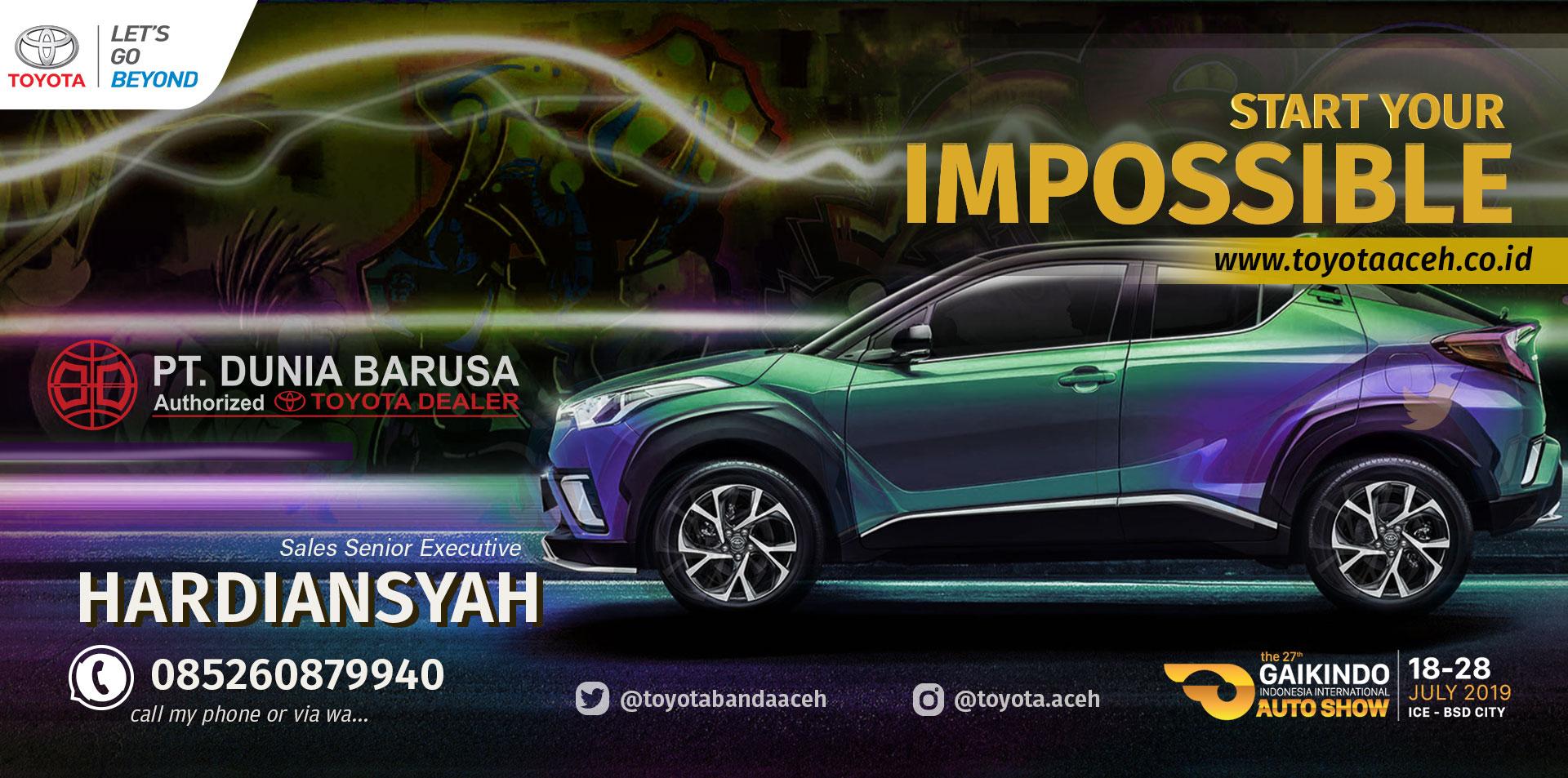 Mengusung Semangat Start Your Impossible, Toyota Siap Tampil Maksimal di Pameran GIIAS 2019