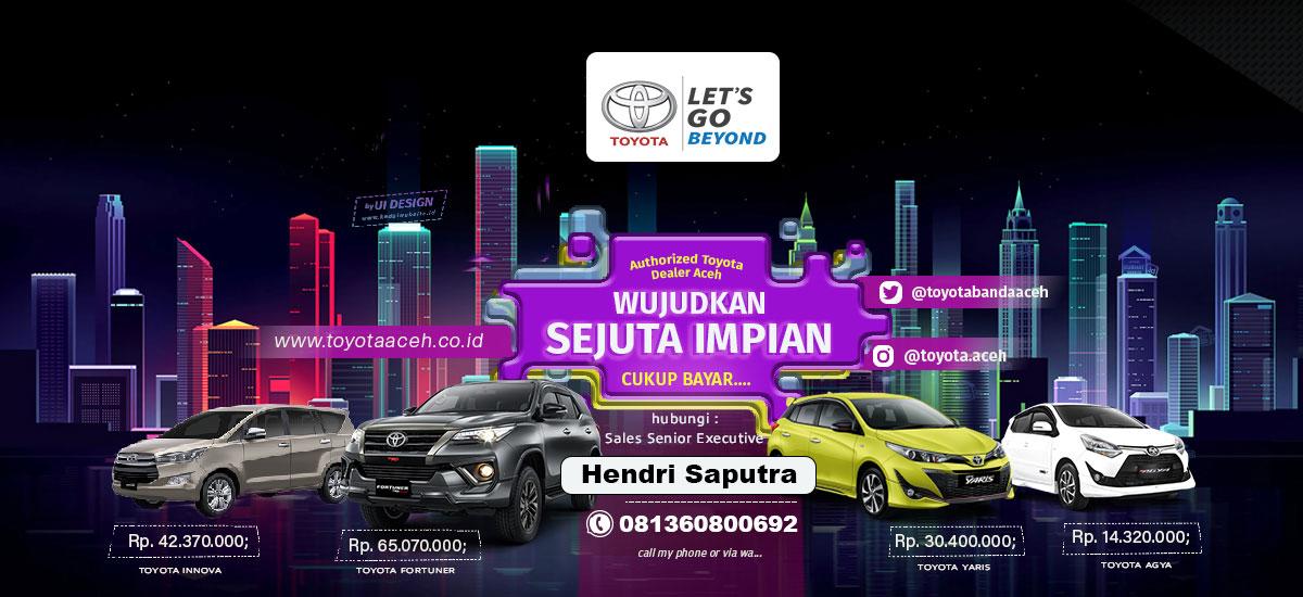 Toyota Aceh Dunia Barusa