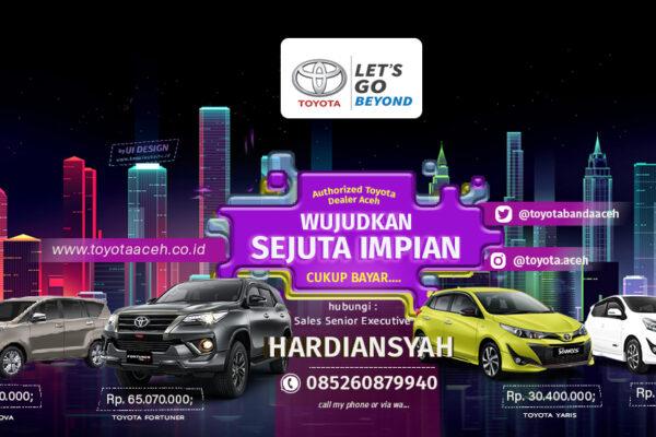 Wujudkan Sejuta Impian Bersama Toyota Aceh