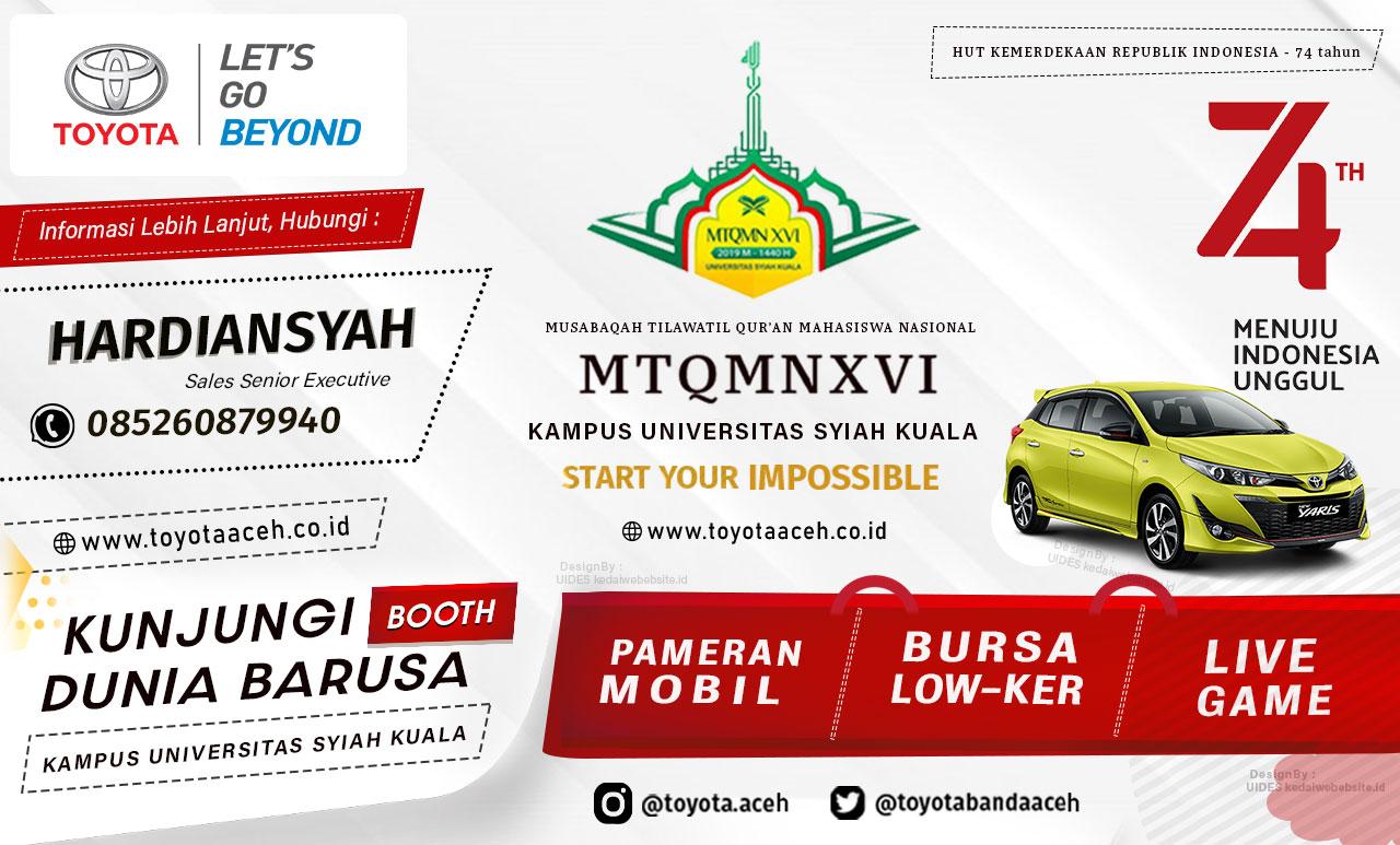 Kunjungi Booth Dunia Barusa di Kampus UNSYIAH Banda Aceh